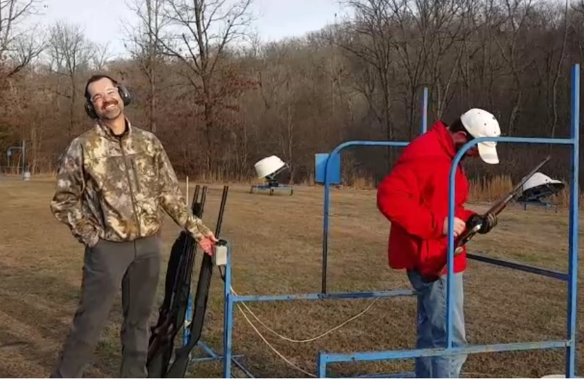 2015 Christmas Sporting Clays and Crappie Fishing